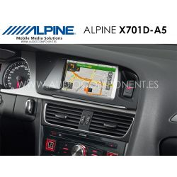 Alpine X701D-A5 - Navegación Audi A5