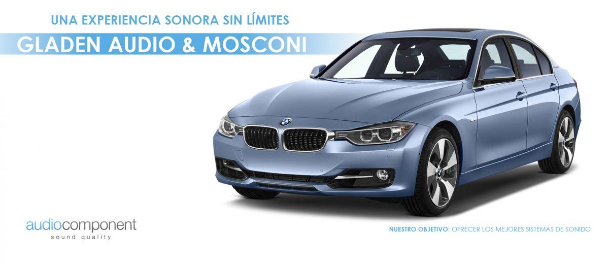 Disponemos de los mejores sistemas de sonido para BMW. Diseñados para emocionar. Audio Component Car Audio OEM en Valencia