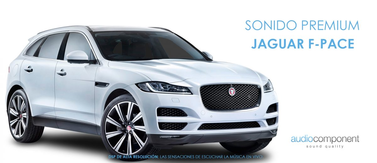 Los sistemas de sonido de alta calidad para Jaguar F-Pace diseñados para conmover. Taller de Car Audio OEM con 20 años de experiencia. Garantizado
