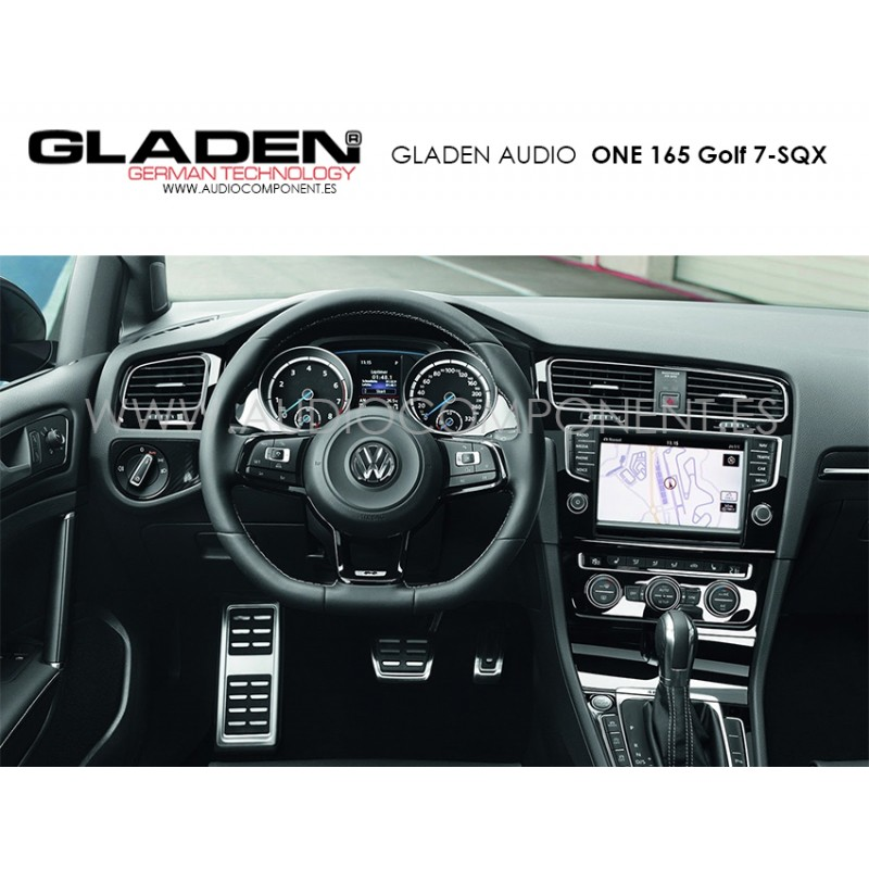 altavoces para volkswagen golf 7 gladen audio one 165 golf. Black Bedroom Furniture Sets. Home Design Ideas