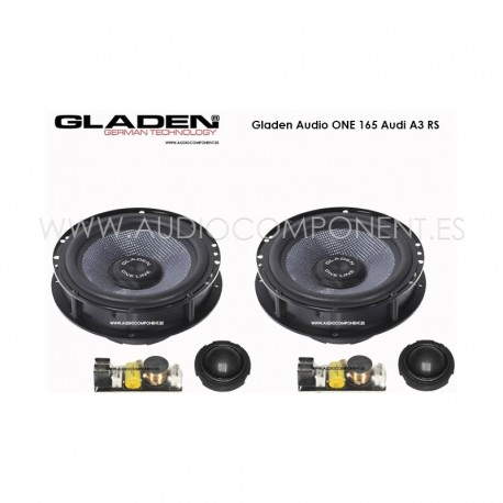 Gladen Audio ONE 165 Audi A3-RS