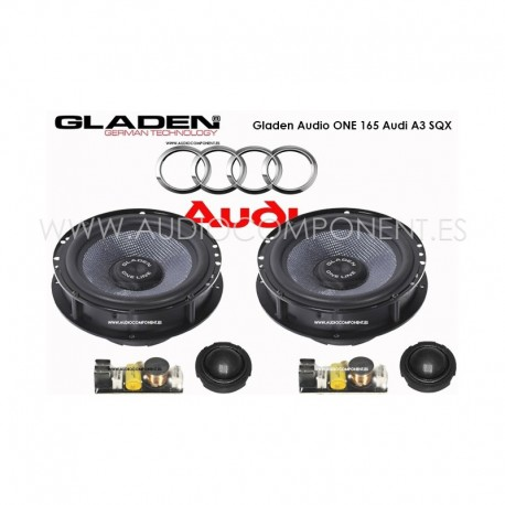 Gladen Audio ONE 165 Audi A3-SQX