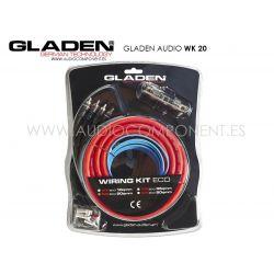 Kit de cable Gladen Audio WK 20