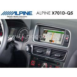 Alpine X701D-Q5 - Navegación Audi Q5