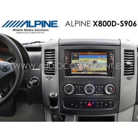 Alpine X800D-S906 - Navegación Mercedes Sprinter (S906)