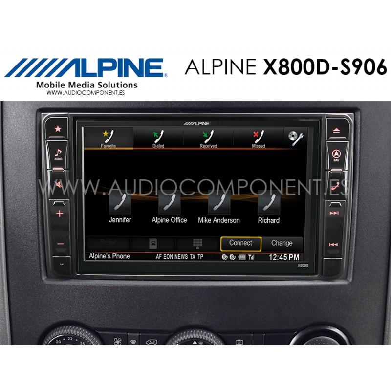 alpine x800d s906 navegaci n mercedes sprinter s906. Black Bedroom Furniture Sets. Home Design Ideas