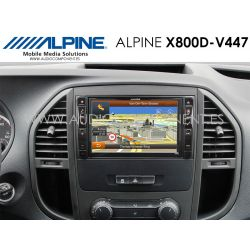 Alpine X800D-V447 - Navegación Mercedes Vito (447)