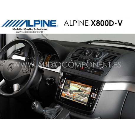 Alpine X800D-V - Navegación Mercedes Vito (V639) Y Viano (W639)