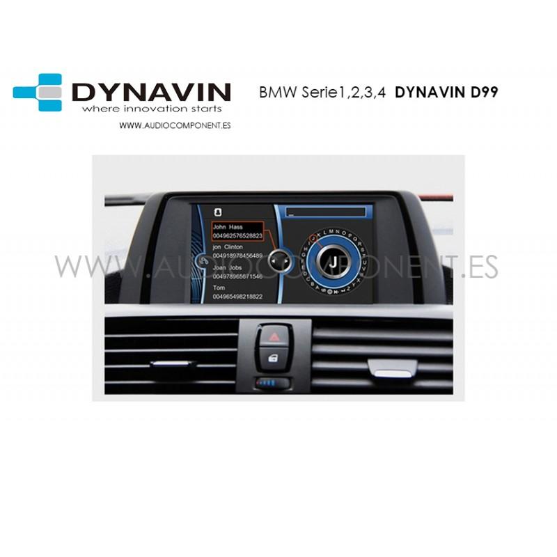 bmw serie 1 2 3 y 4 dynavin d99 navegador gps audio component venta on line e. Black Bedroom Furniture Sets. Home Design Ideas