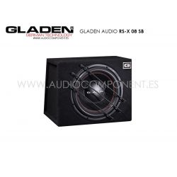 Gladen Audio RS-X 08 SB