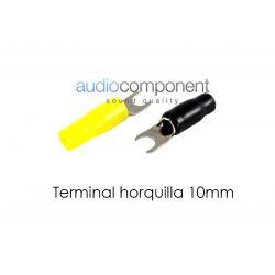 Terminal horquilla 10mm