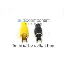 Terminal horquilla 21mm
