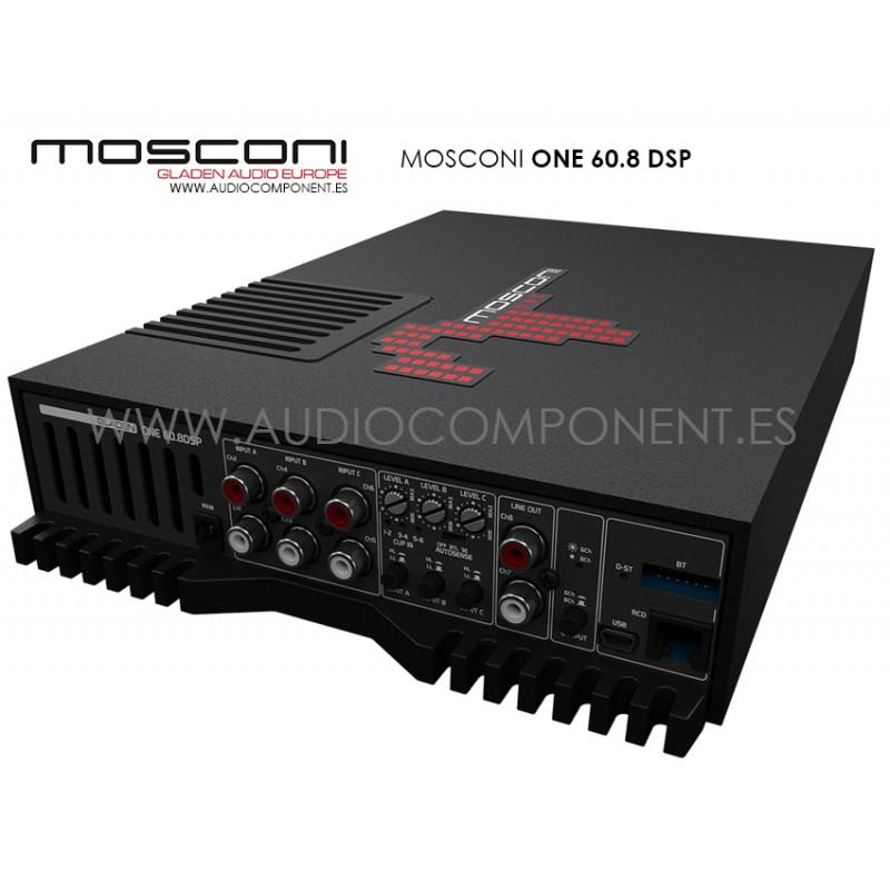comprar amplificador con dsp para coche mosconi one 130 4. Black Bedroom Furniture Sets. Home Design Ideas