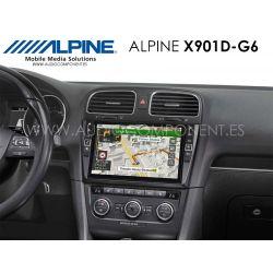 Alpine Golf 6 - X901D-G6 - Navegación Golf 6
