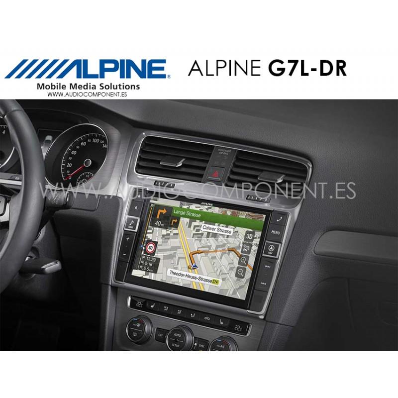 Alpine G7L-DR - Marco adaptador Golf 7 - Audio Component - Venta on ...