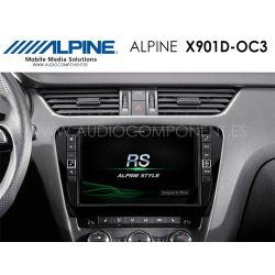 Alpine X901D-OC3 - Navegación Skoda Octavia 3
