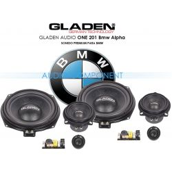 Gladen Audio ONE 201 Bmw Alpha - Altavoces para coche BMW