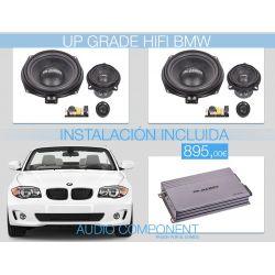 UPGRADE FRONT SYSTEM BMW - Pack HIFI para BMW Gladen Audio con instalación incluida
