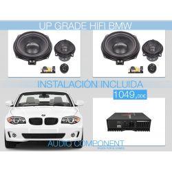 FRONT SYSTEM BMW - Pack HIFI para BMW Gladen Audio & Mosconi con instalación incluida