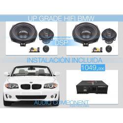 Sistema sonido coche HIFI Professional BMW DSP con instalación incluida - UPGRADE FRONT SYSTEM BMW level 3 - Gladen Audio BMW