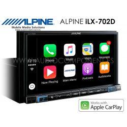 Alpine iLX-702D Apple CarPlay y Android navegador GPS Coche