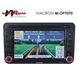 Seat, Skoda, Volkswagen - Macrom M-OF7070 Navegador GPS táctil
