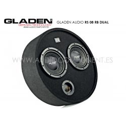Gladen Audio RS 08 RB Round Box DUAL