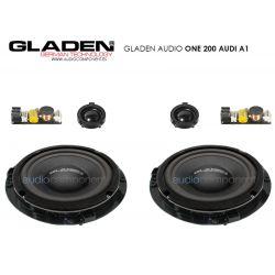 Gladen Audio ONE 200 AUDI A1 - Altavoces para Audi A1