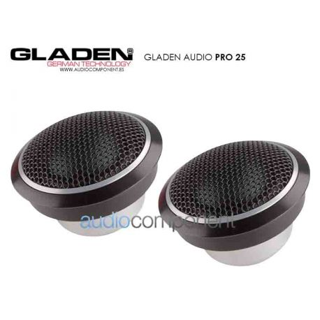 Gladen Audio PRO 25 - Tweeter 25mm. en cámara de resonancia