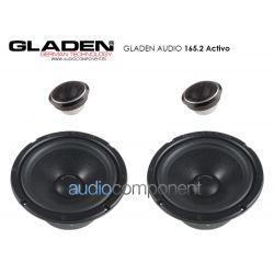 Gladen Audio PRO 165.2 Activo - Altavoces para coche