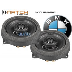MATCH MS 4X BMW 2 - Altavoces para BMW