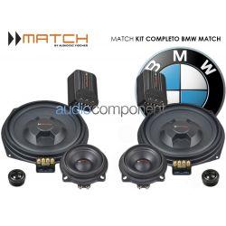 Sistema de altavoces BMW MATCH - Kit Completo de 6 altavoces
