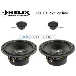 Helix C 62C Activo - Altavoces 2 vías para coche