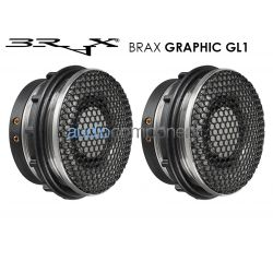 BRAX GRAPHIC GL1 - Tweeter 28mm. en cámara de resonancia