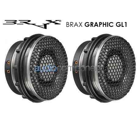 BRAX GRAPHIC GL1 - Tweeter 28mm. en cámara de resonancia