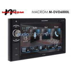 Macrom M-DVD6000L Navegador GPS Coche 2 DIN