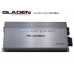 Gladen Audio RC105c4 - Amplificador 4 canales