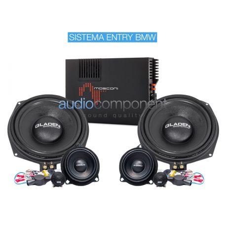 Gladen Mosconi Boxmore Audio Component BMW ENTRY - Sistema de sonido para coche BMW