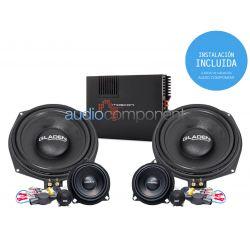 Instalación de kit de sistema de sonido para coche BMW - Gladen Mosconi Boxmore BMW ENTRY