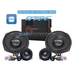 Gladen Mosconi Boxmore BMW HIFI EXTREME - Sistema de sonido para coche BMW