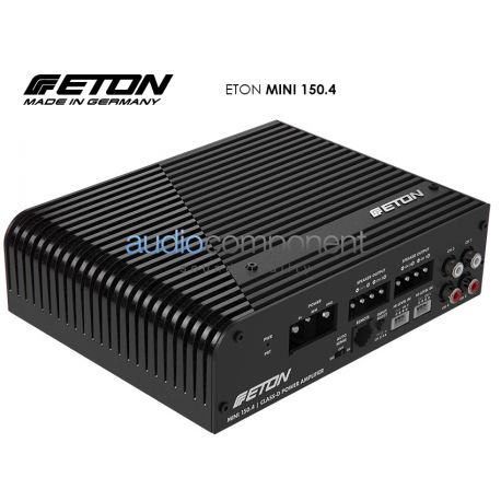 ETON MINI 150.4 - Amplificador 4 canales para coche