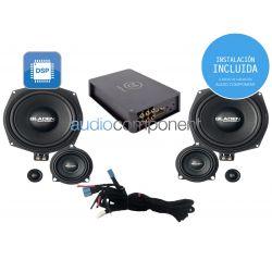 Instalación de kit de sistema de sonido para coche BMW - Gladen Mosconi Boxmore BMW ENTRY DSP