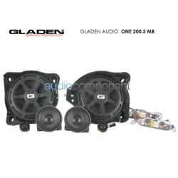 Gladen Audio ONE 200.3 MB - Altavoces para coche Mercedes