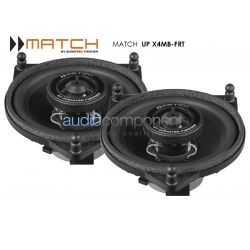 MATCH UP X4MB-FRT - Altavoces puertas traseras Mercedes Clase C, Clase E, Clase S y Mercedes GLC