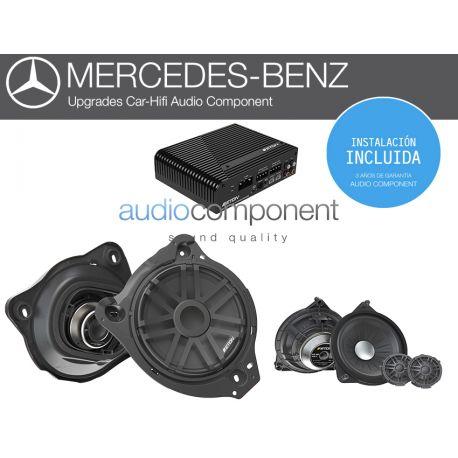 Instalación sistema de sonido para coche Mercedes - UPGRADE Audio Component MERCEDES DSP (2)