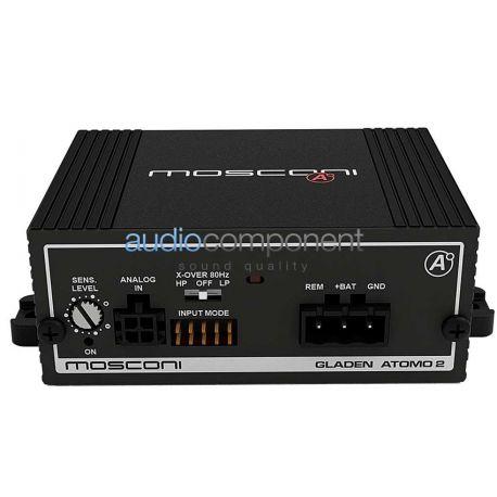 Mosconi Atomo 2 - Amplificador 2 canales para coche