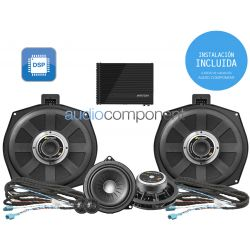 Instalación de kit de sistema de sonido para coche BMW - ETON Mosconi UPGRADE Audio Component BMW DSP (2)