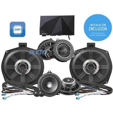 Instalación de kit de sistema de sonido para coche BMW - ETON Mosconi UPGRADE Audio Component BMW DSP