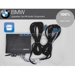 Amplificador BMW ETON Mini 150.4 DSP para mejorar el sonido de los altavoces BMW Plug and Play