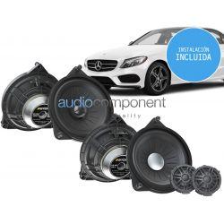 Instalación sistema de sonido para coche Mercedes - UPGRADE Audio Component MERCEDES DSP (5)